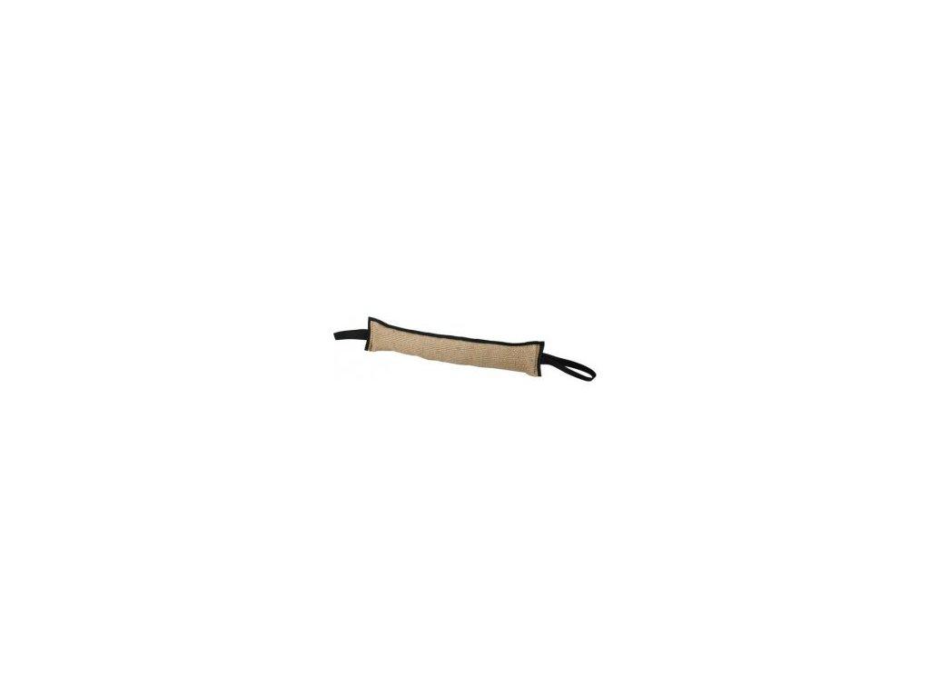 Pešek - juta, oboustranný 25 cm / prům. 4 cm lepený