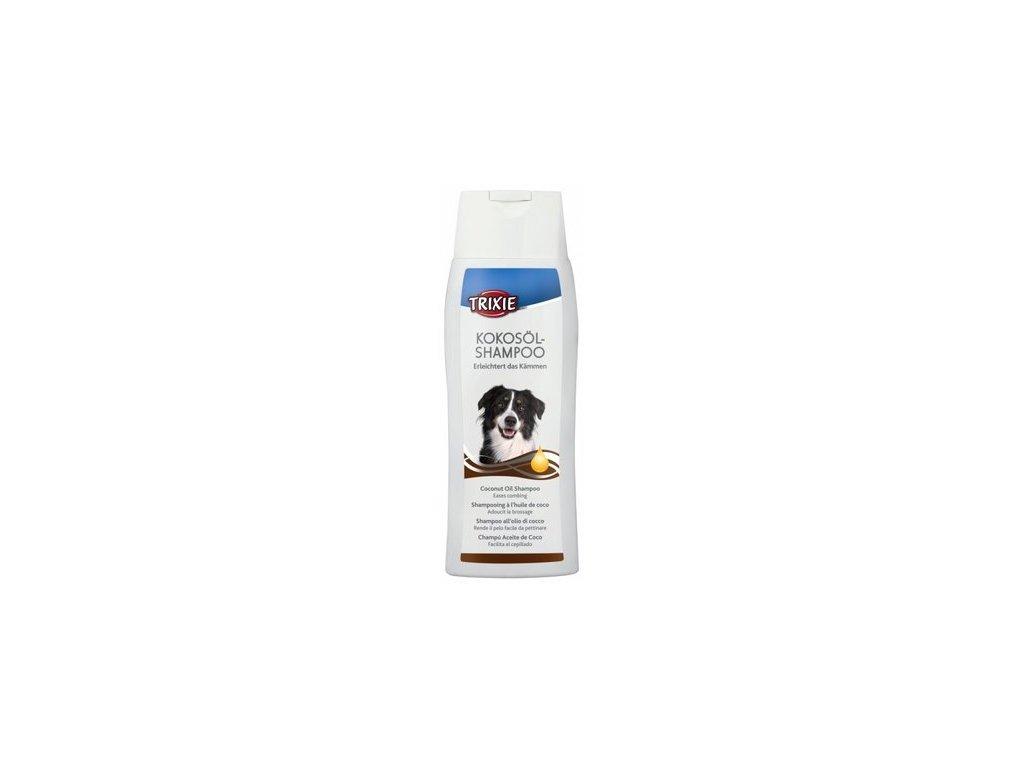 Kokosový šampon 250ml TRIXIE-s přírodním kokosovým olejem