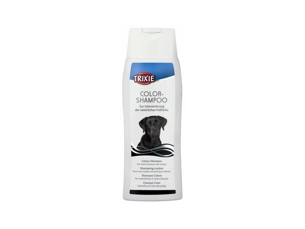 Color šampon-černý 250ml TRIXIE - pro tmavé nebo černé psy