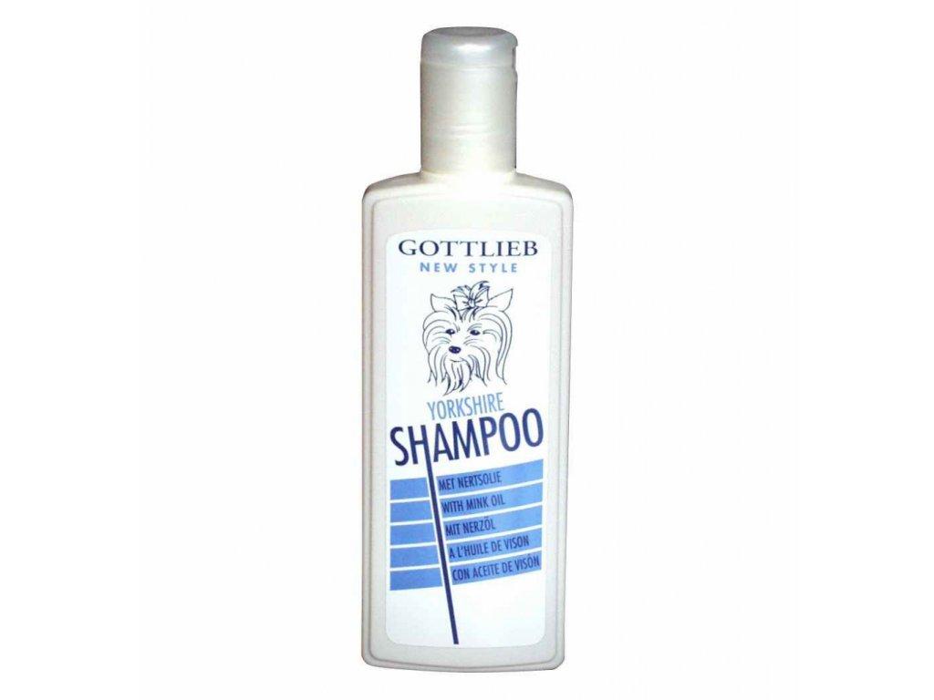 Gottlieb Yorkshire šampon 300ml - s makadamovým olejem