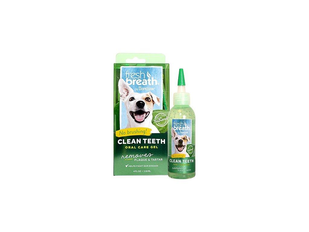 Tropiclean Cleen Teeth Kit gel na čištění zubů pro psy 118ML