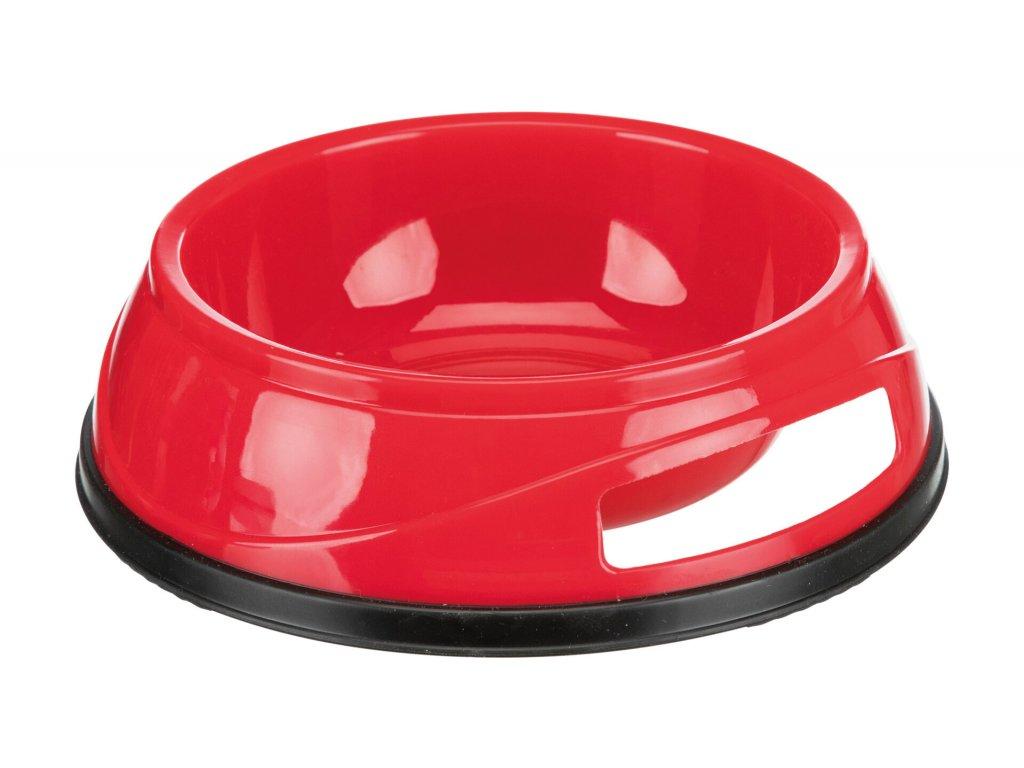 Plastová HEAVY miska s gumovým okrajem 1,5 l / 20 cm