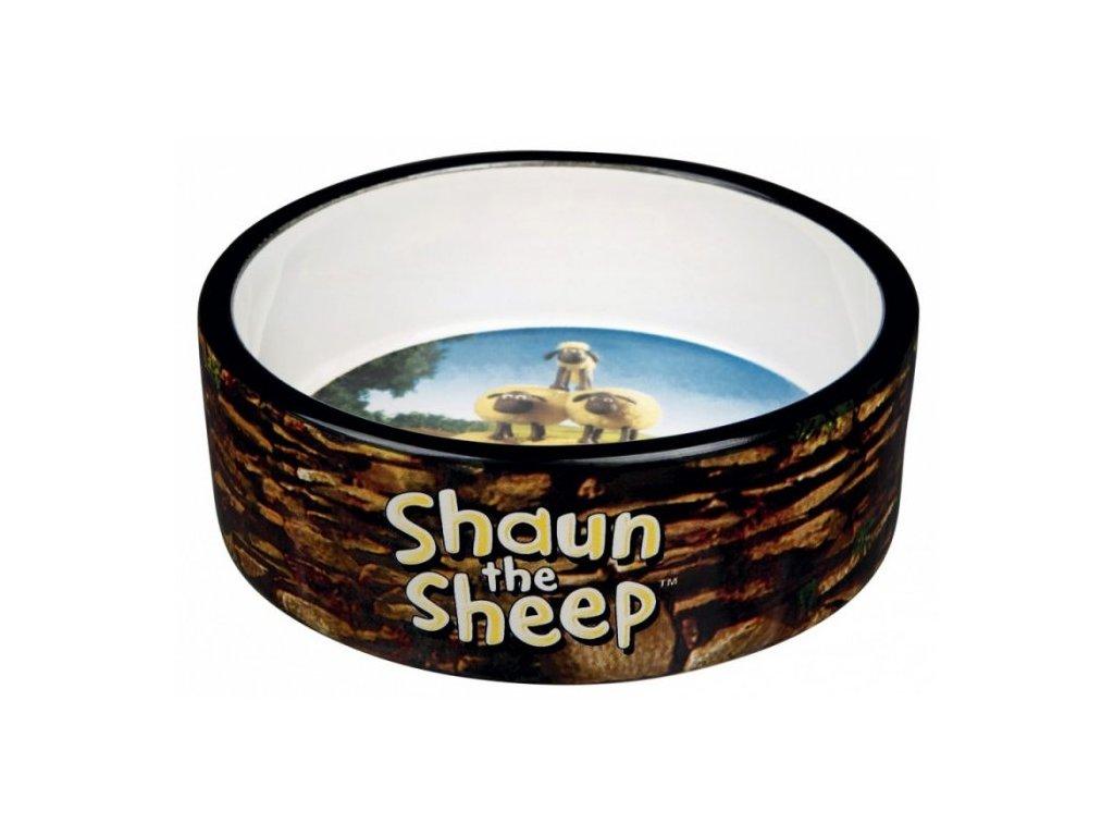 Ovečka Shaun keramická miska 0,8 l/16 cm