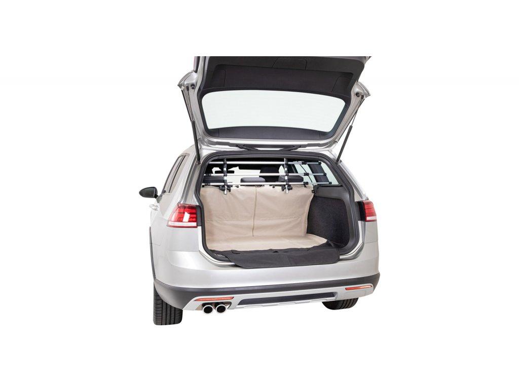 Autopotah do nákladového prostoru béžový, dělitelný 1,8x1,3m