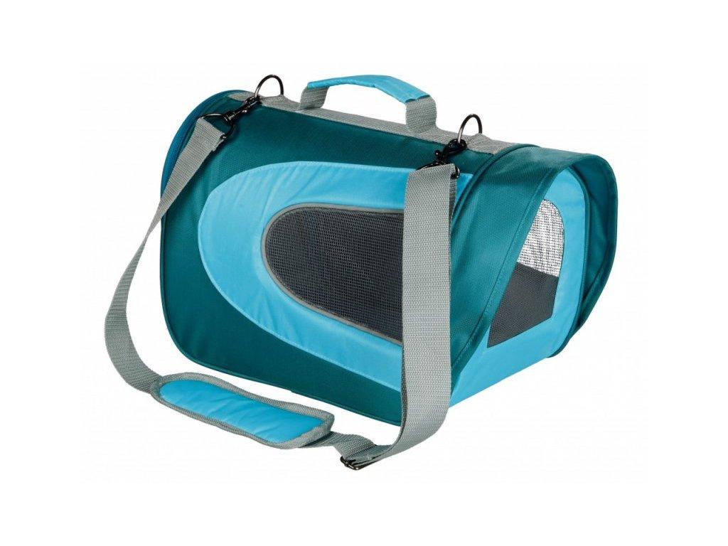 ALINA bag, nylonová přepravní taška se síťkou 27x27x35 cm
