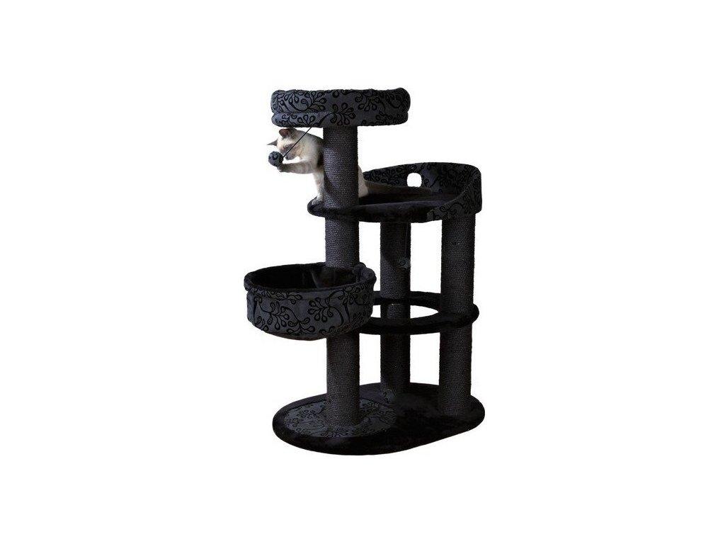 Škrábadlo FILIPPO šedo/černé 114 cm