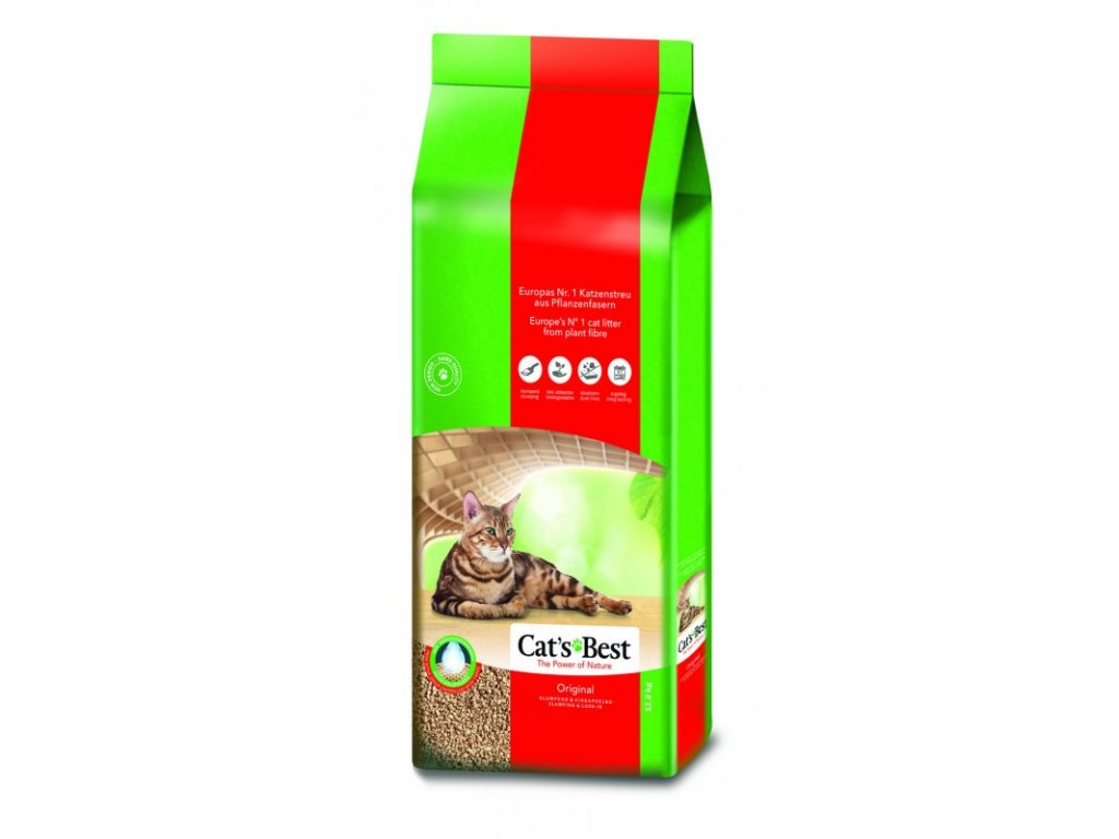 CATS BEST ÖKO PLUS 40 L / 17,2KG