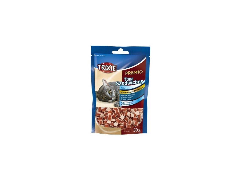 PREMIO Tuna Sandwiches 50 g - s tuňákem a kuřecím masem