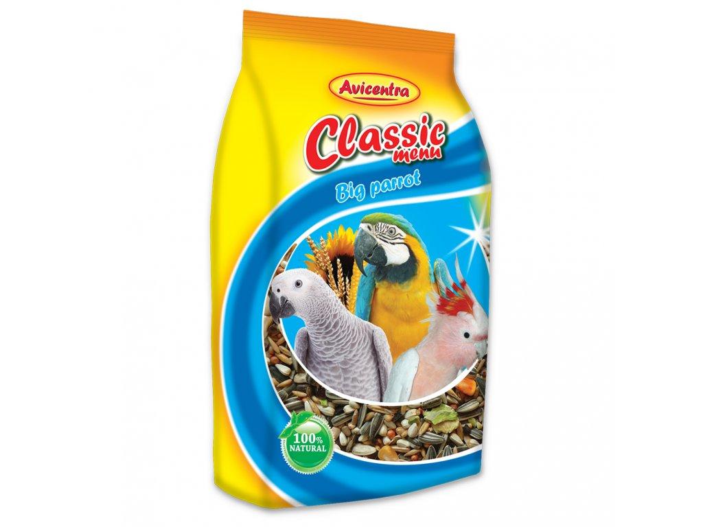 Avicentra Classic menu velký papoušek 1kg