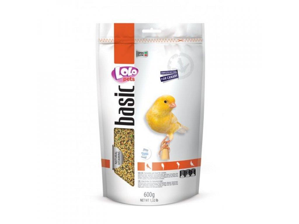 LOLO BASIC kompletní krmivo pro kanárky 600 g
