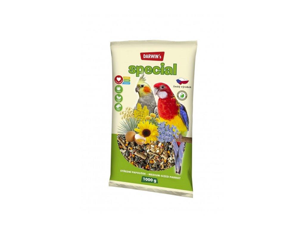 Darwin's Střední Papoušek Special 1kg  sleva 2% při registraci