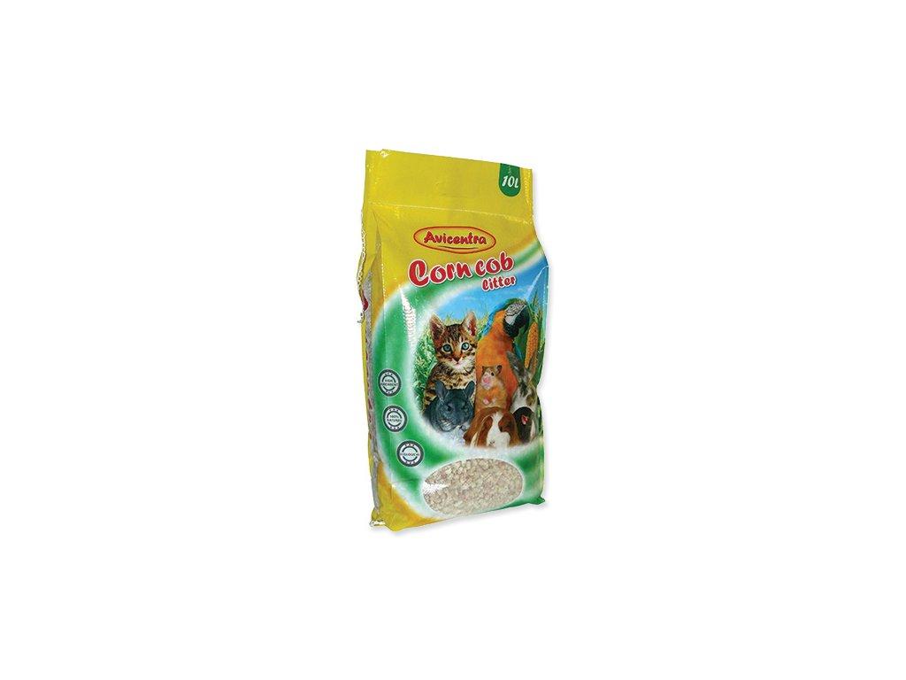 Avicentra kukuřičná podestýlka jemná 10 l / 3kg