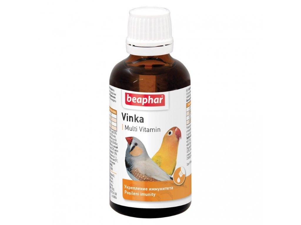 Beaphar vitam ptáci kapky Vinka 50ml
