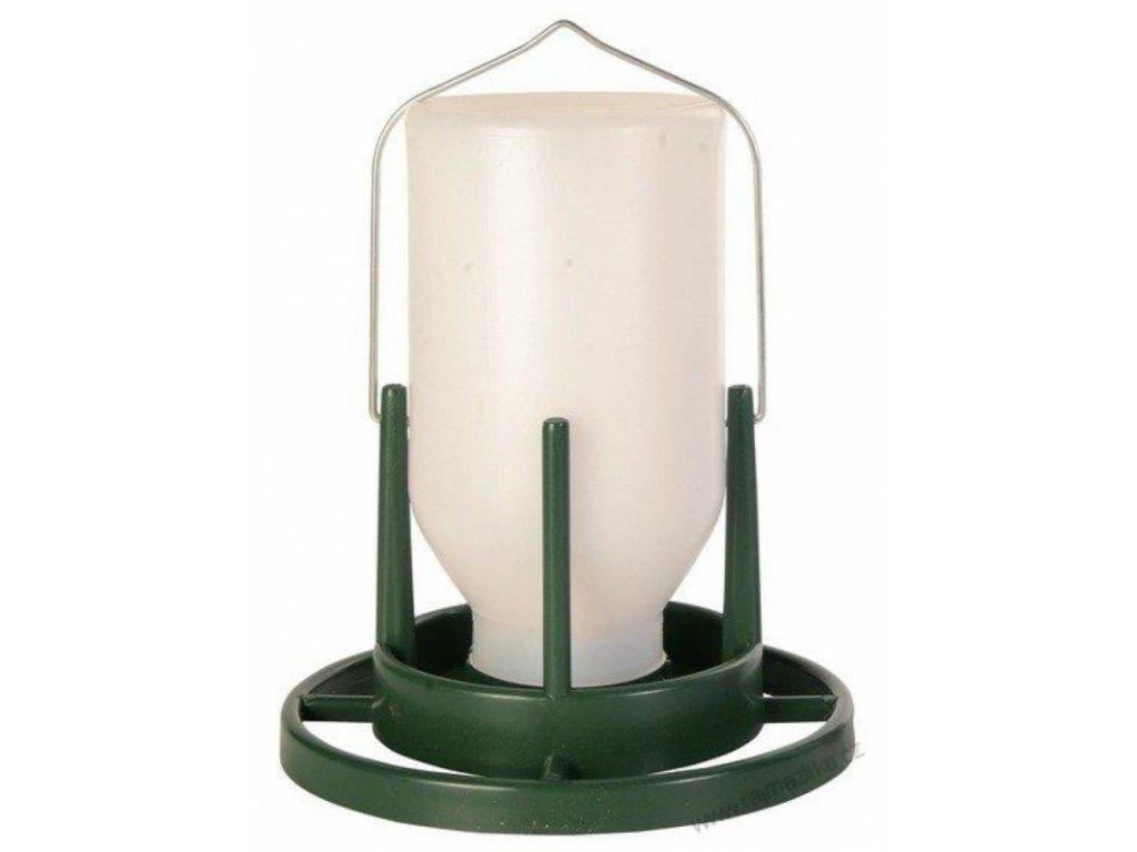 Závěsná automatická napáječka/krmitko 1000 ml/20 cm