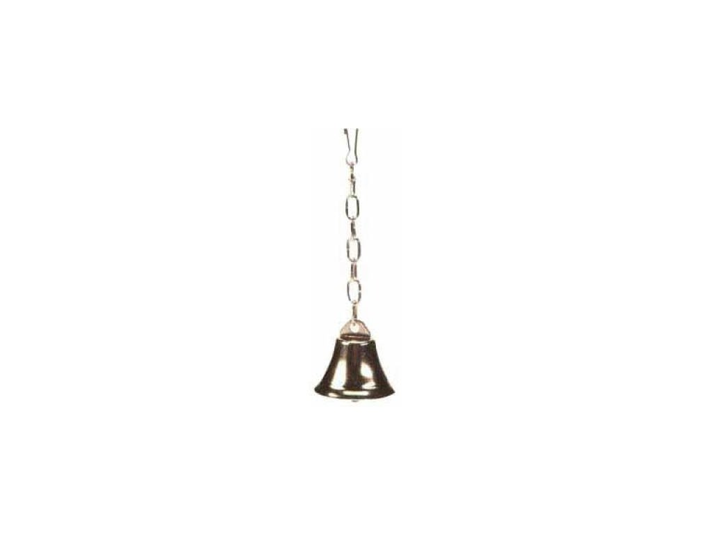 Zvonek kovový malý