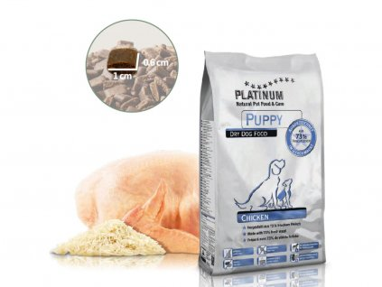 PLATINUM PUPPY CHICKEN - Kuřecí pro štěńata 1,5 KG