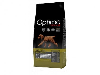 OPTIMAnova dog ADULT MINI DIGESTIVE GF Rabbit 800g