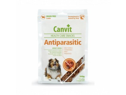Canvit Snacks Anti-Parasitic 200g
