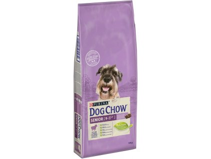 PURINA DOG CHOW SENIOR jehněčí 14KG