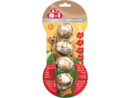 Koule žvýkací Delights S 4ks