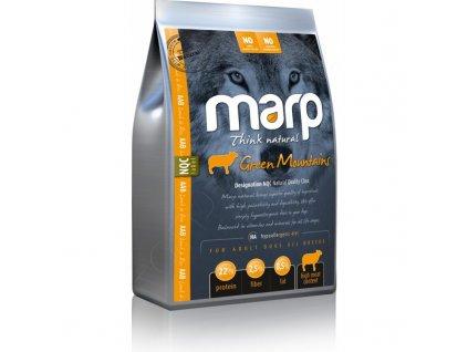 Marp Natural Green Mountains - jehněčí  + Dárek 300g hovězí masové paté ZDARMA