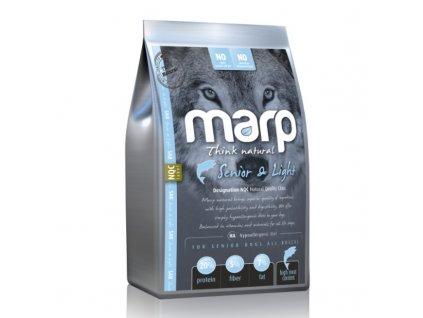 Marp Natural Senior and Light - s bílou rybou 2kg  kvalitní holistické krmivo pro psy