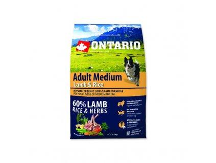 ONTARIO ADULT MEDIUM LAMB & RICE