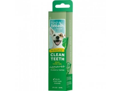 Tropiclean Fresh Breath čistící gel na zuby pro psy 59 ml