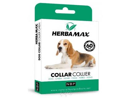 Herba Max Dog collar 60cm antiparazitní obojek