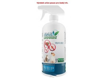 Max Biocide Vapo Gun 500ml antipar. spray