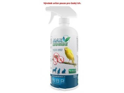 Max Biocid Bird Vapo Gun 500ml antipar.spray