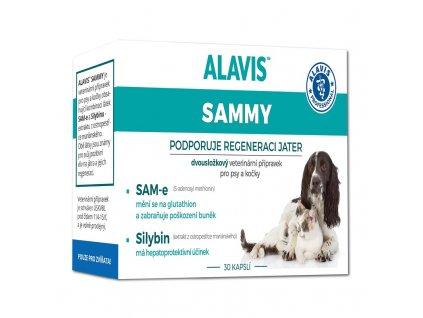 ALAVIS™ SAMMY 30 cps pro psy a kočky  sleva při registraci pro zákazníky