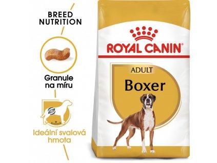 ROYAL CANIN Boxer Adult  Granule speciálně pro plemeno boxera