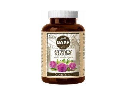 Canvit BARF Silybum Marianum 160g  Sušená semena Ostropestřce mariánského (Silybum Marianum) v organické kvalitě pro podporu detoxifikační funkce jater