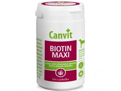 Canvit Biotin Maxi pro psy ochucený 500g