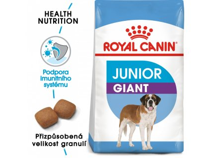 ROYAL CANIN Giant Junior 15kg  Giant Junior granule pro obří štěňata