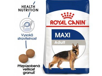 ROYAL CANIN Maxi Adult granule pro dospělé velké psy  Maxi Adult granule pro dospělé velké psy