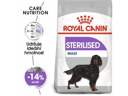 ROYAL CANIN MAXI sterilised 15Kg  granule pro kastrované velké psy