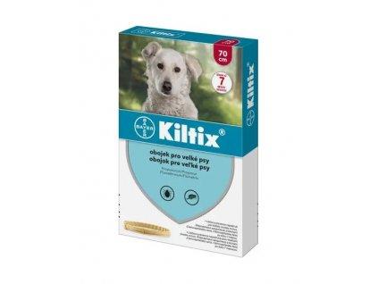 KILTIX antiparazitní obojek pro psy 70 cm