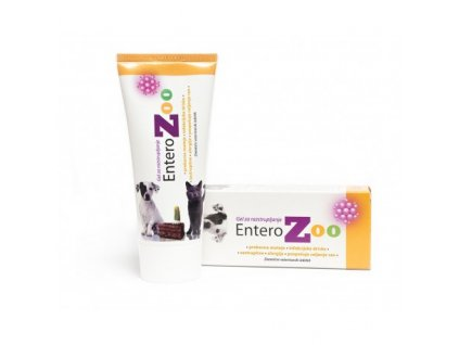 Entero ZOO detoxikační gel 100g  Detoxikace organizmu, váže toxické látky a odvádí je z organizmu. Vhodné při střevních a jiných potíží