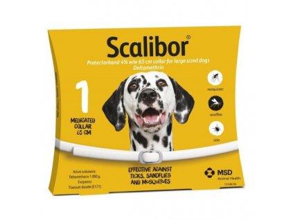 SCALIBOR antiparazitní obojek pro psy 65 cm