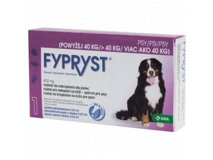 FYPRYST SPOT ON A.U.V. XL (PES NAD 40KG) SOL 1X4,02 ML