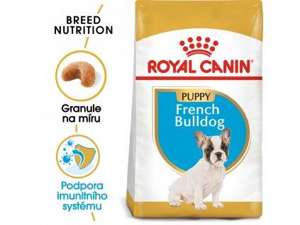 ROYAL CANIN French Bulldog Puppy  French Bulldog Puppy granule pro štěně francouzského buldočka
