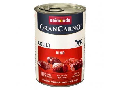 GRANCARNO Adult - hovězí 400g + výhodné balení