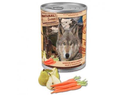 Natural Greatness zvěřina, mrkev, hruška pro psy 400 g