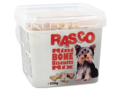 Sušenky RASCO Dog mikro kosti mix (350g)