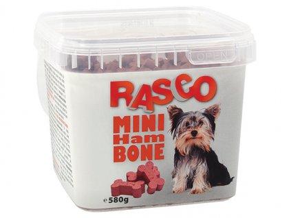 Pochoutka RASCO Dog mini kosti šunkové (580g)