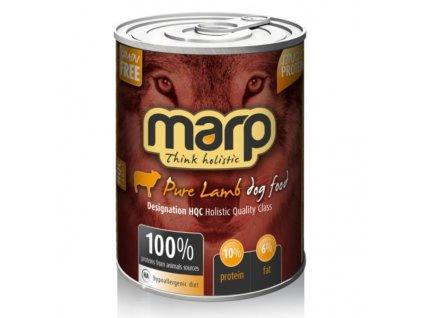 Marp Lamb konzerva pro psy s jehněčím  kvalitní holistické krmivo pro psy