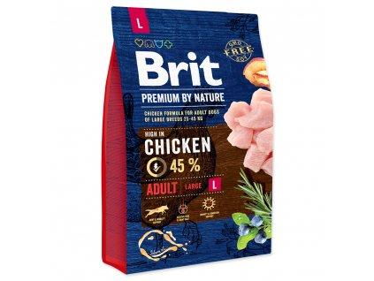 BRIT Premium by Nature Adult L 3kg  sleva při registraci pro zákazníky