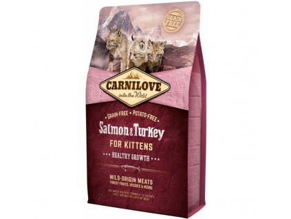 CARNILOVE SALMON&TURKEY KITTENS 2 KG